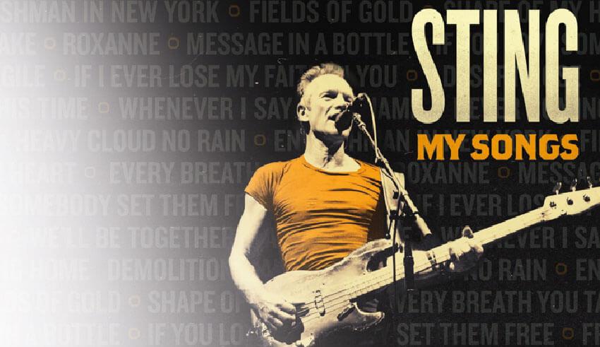 """""""My Songs: Live"""", il nuovo album di Sting"""