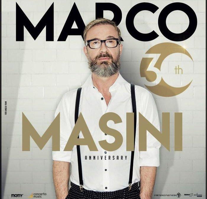Marco Masini celebra 30 anni carriera con disco e tour