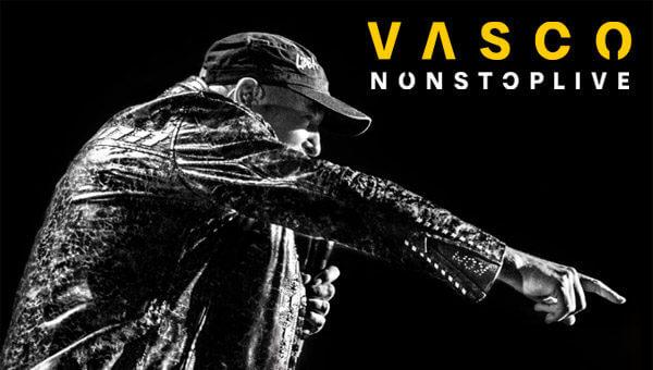 """""""Non Stop Live"""", il nuovo disco di Vasco Rossi"""