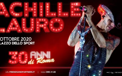 """Achille Lauro, """"30 anni di Roma"""": un appuntamento speciale"""