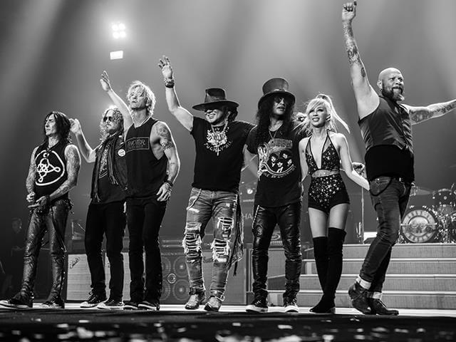 Tornano i Guns N' Roses in Italia nel 2022